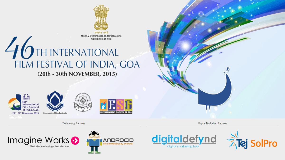 Digital Defynd Digital Marketing Partner for International Film Festival of India, IFFI Goa