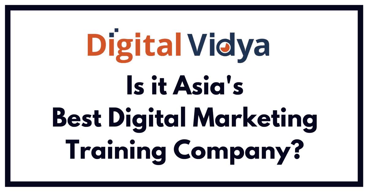 Digital Vidya Review Best Digital Marketing Company