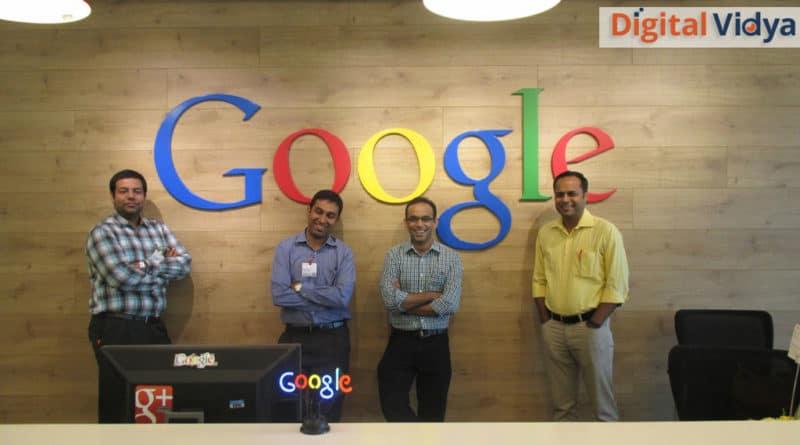 Google Partnership with Digital Vidya for Trainings