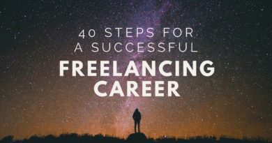 successful freelancing career