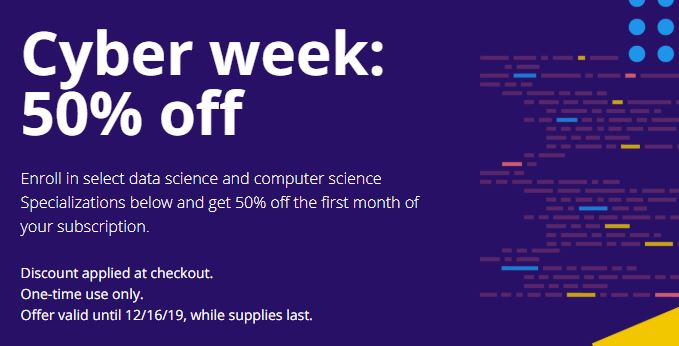 Holiday Coursera Deal