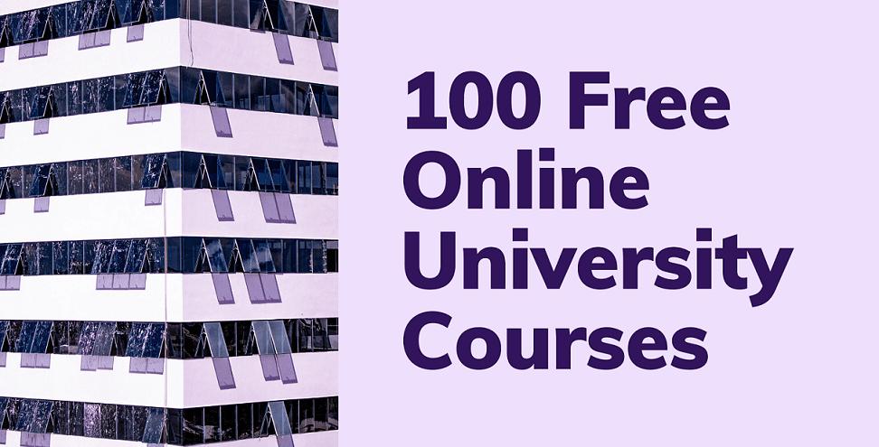 100 Free Online University Courses