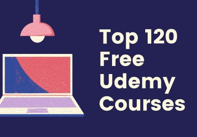 Top 120 Free Udemy Courses [2020] [UPDATED]