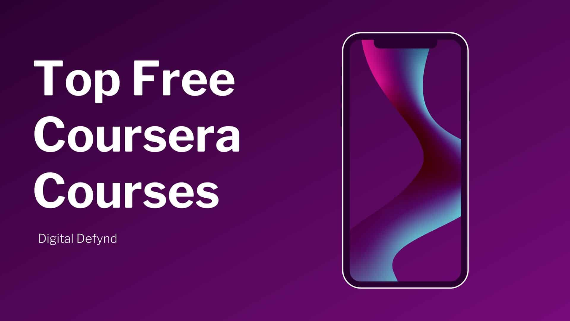 Free Coursera Courses