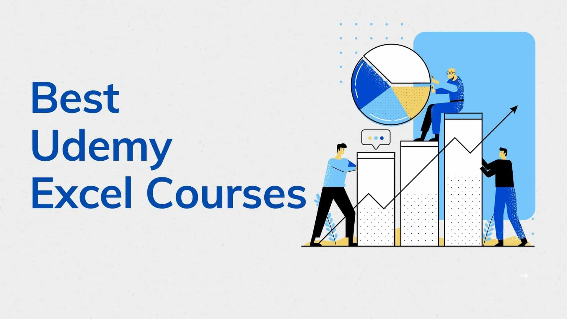 best udemy excel courses